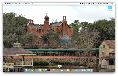 Haunted Mansion Desktop