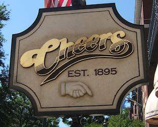 Cheers Logo Boston