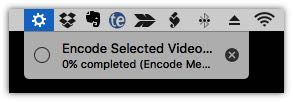 Encode Menu Bar