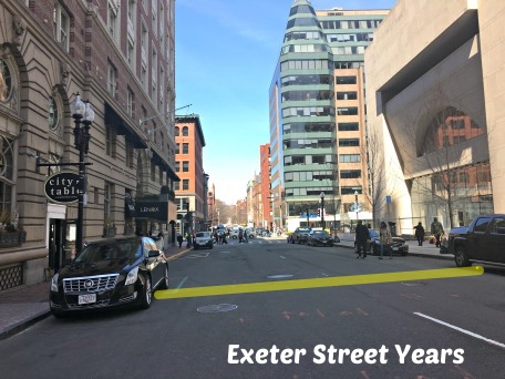 Exeter Street Years