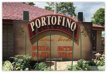 Portofino Sign
