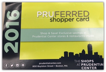 Prudential Preferred Shopper Card