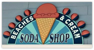 Soda Shop Sign