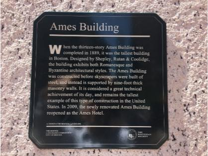 Ames Hotel Sign