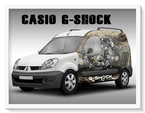 G-Shock Car Wrap