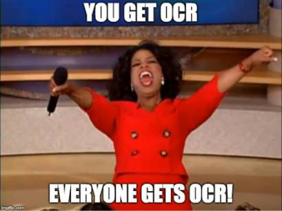 Everyone Gets OCR