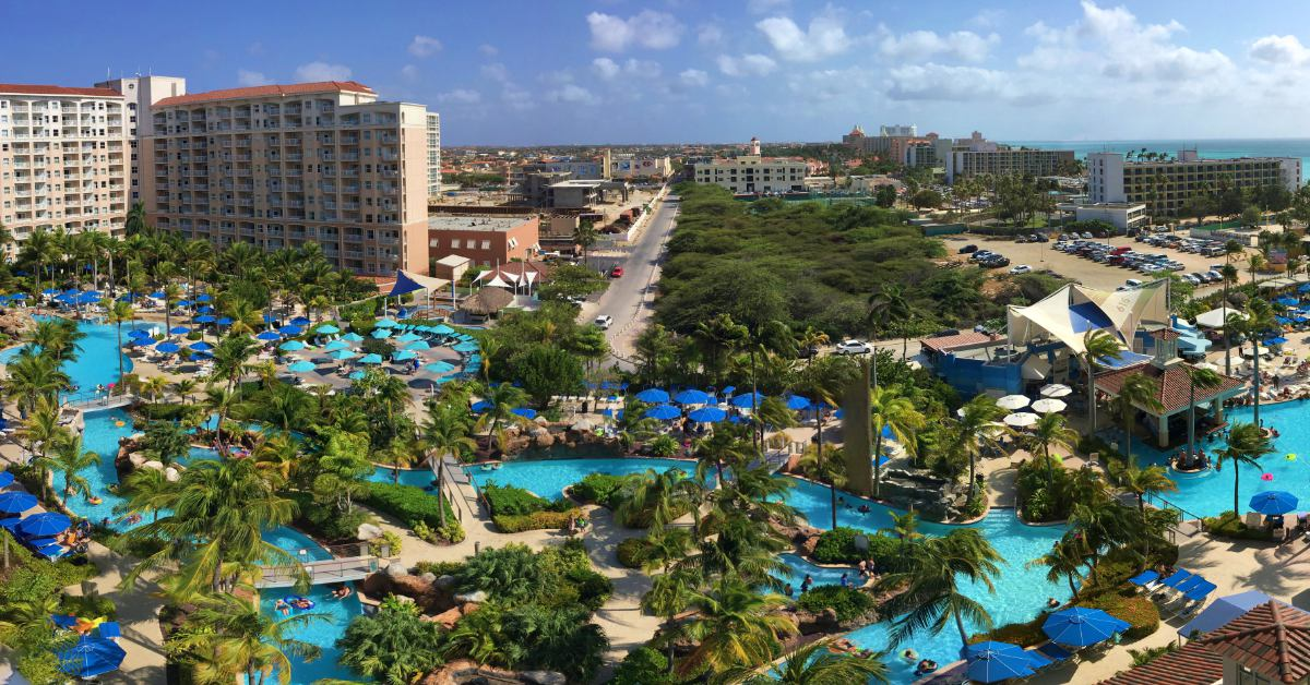 Marriott Aruba Pool