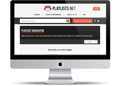 Playlists Generator