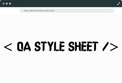 Q A Style Sheets
