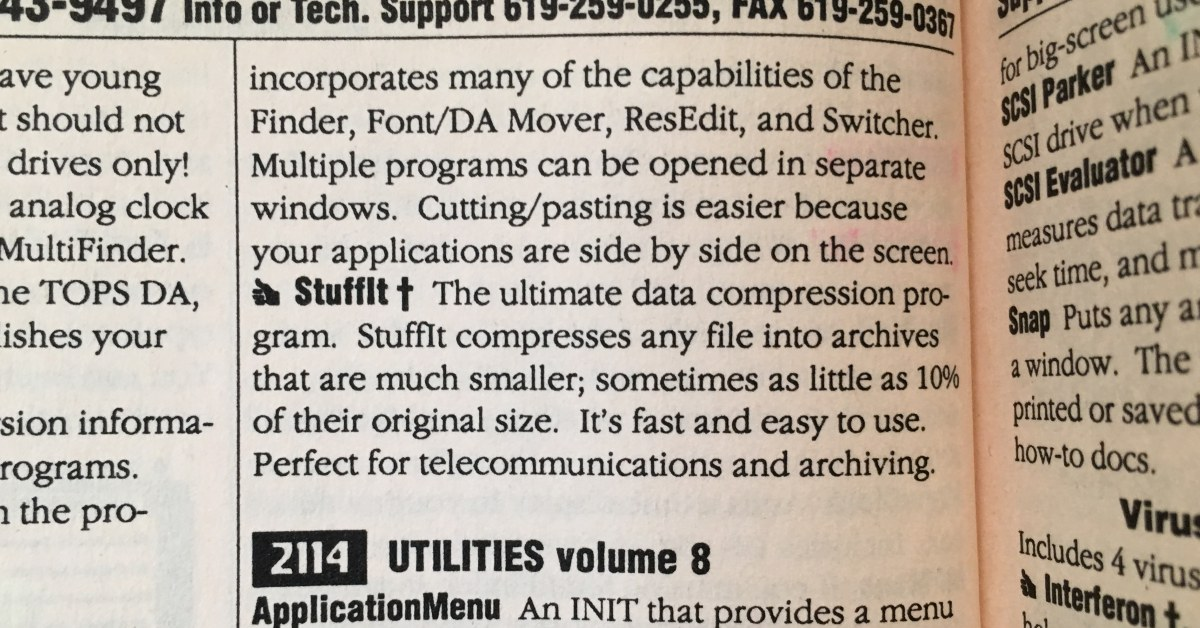 Stuffit Educorp Catalog