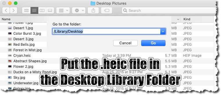Desktop Picture Folder