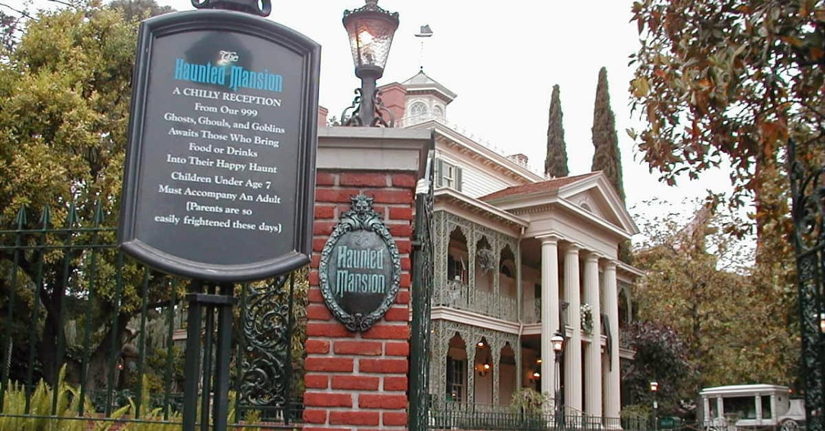 Haunted Mansion Rides