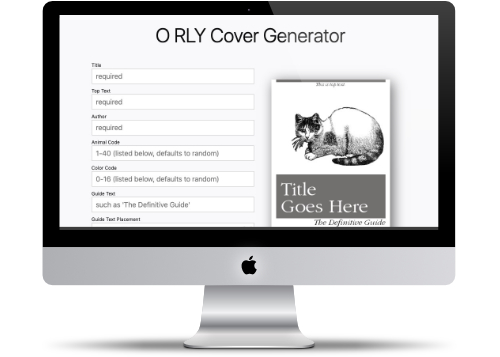 ORLY Cover Generator