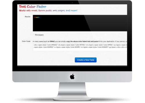 Text Color Fader