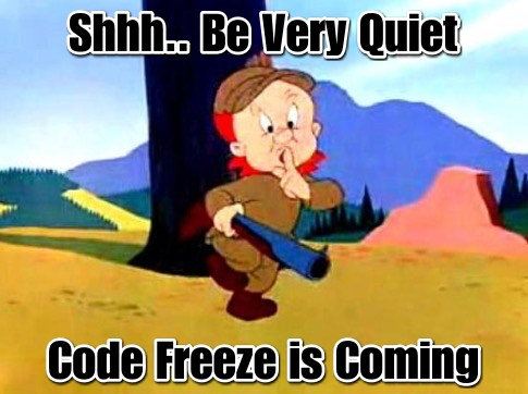 Emerld Fudd Code Freeze