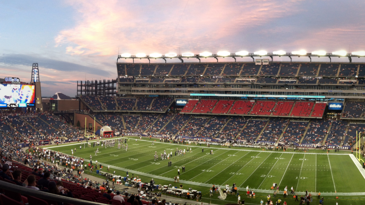 Gillette Stadium 2012