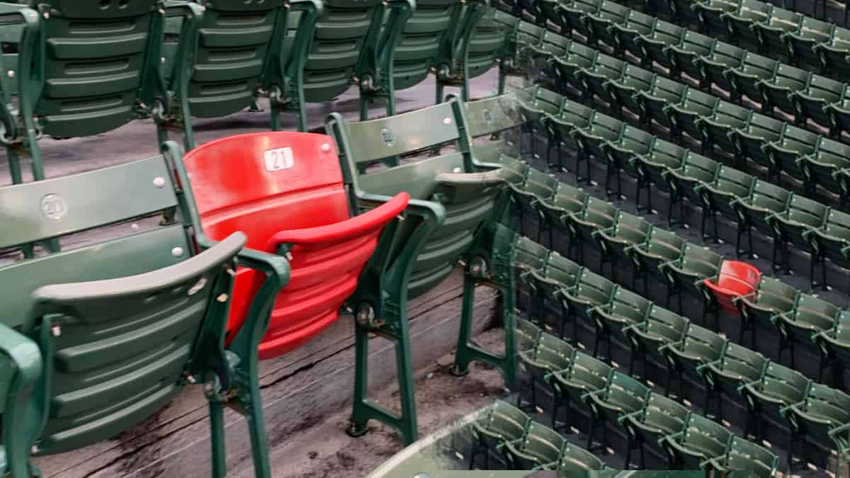 Ted Williams Red Chair