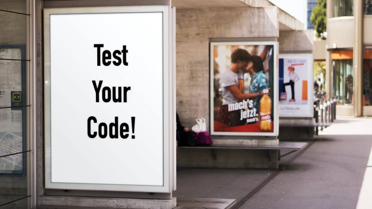 Test Code Billboard