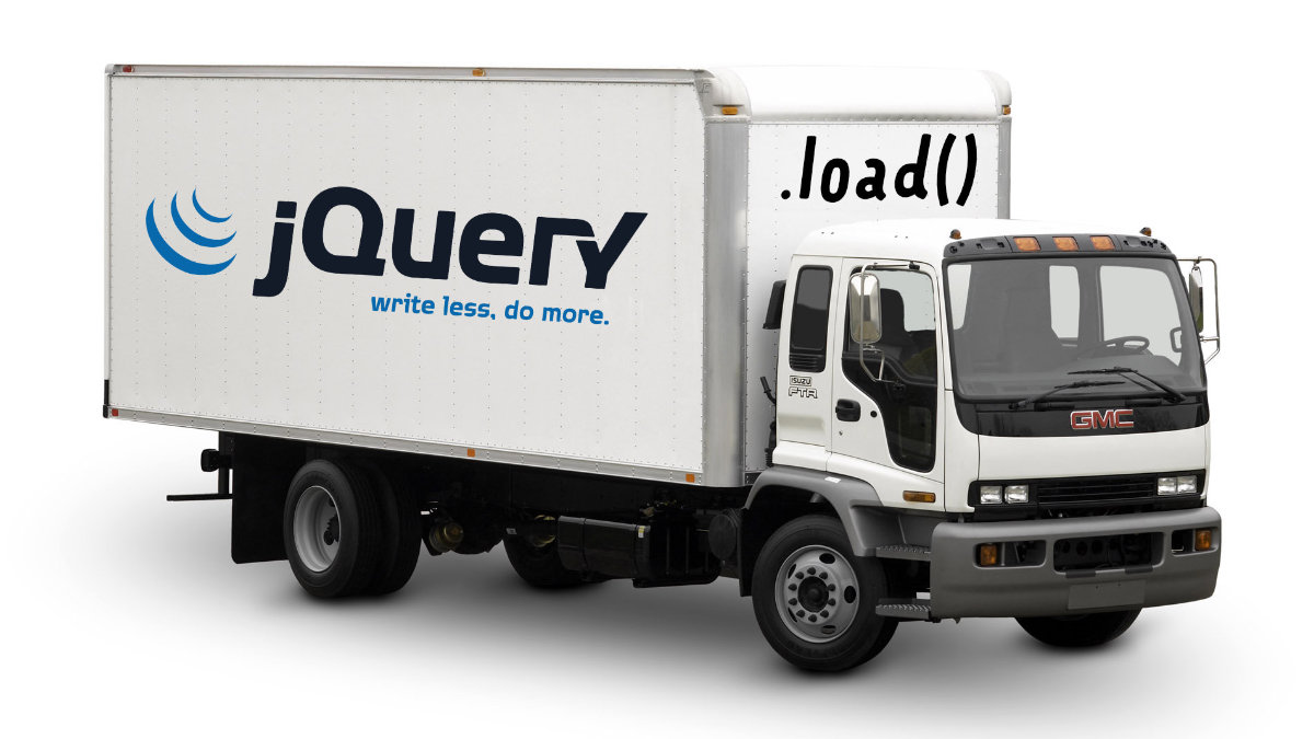 jQuery Load Truck