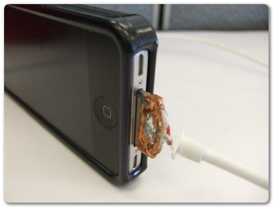 how to fix broken iphone cable
