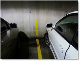 Creative Garage Parking lines