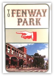To Fenway Sign