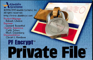 Private File Splash