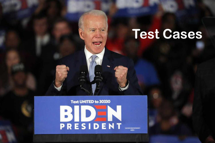 Test Cases- Bidens