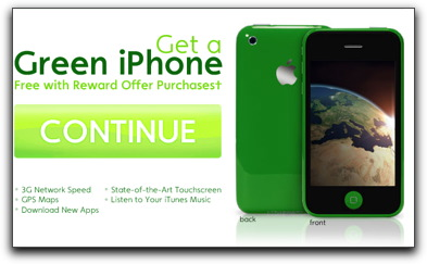Green iPhone Graphic