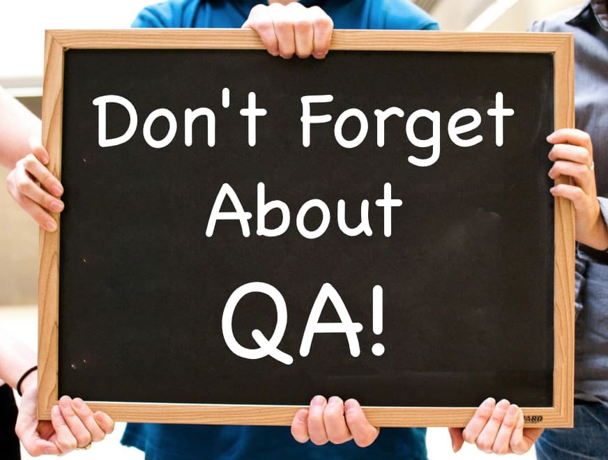 Dont Forget QA