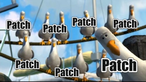 Patch Patch Patch Finding Nemo